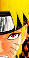 Uzumaki Naruto Sage-Kyubi-Mode by TobeyD