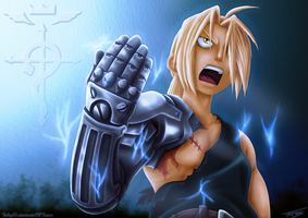 Edward Elric by TobeyD