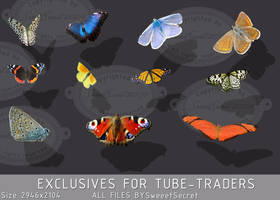 Butterfly tubes by SweeetSecret