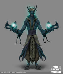 TSW - Creature design by Legibbon