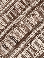 Text as Pattern by NatalieBee