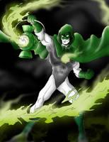 Hal Jordan as The Spectre by Azraeuz