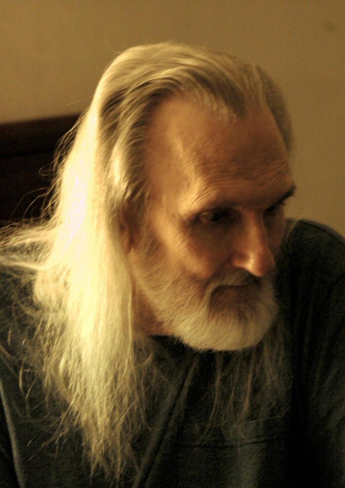 Portrait of a Man  R.I.P by apacheann6