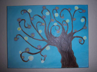 Whimsical Tree by oneluve45