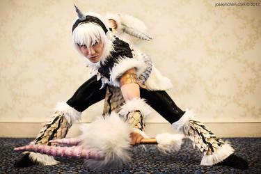 Monster Hunter Goushu Kirin by SoCoPhDPepper