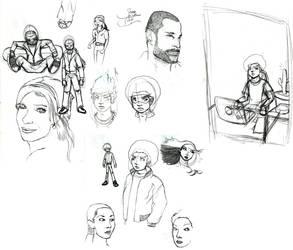 Sketchdump January 13 2010 by CaseyPalmer