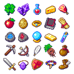 RPG items set by Phoenix-849