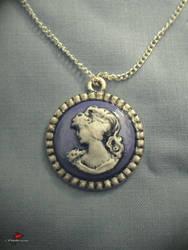 Lady In Lavender Necklace by Studio-Methuselah