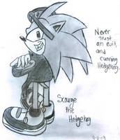 Never Trust and Evil Hedgehog by Mephonix