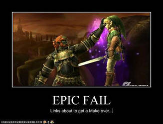 Epic fail for Link by Mephonix