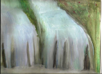 Water Fall by Mephonix