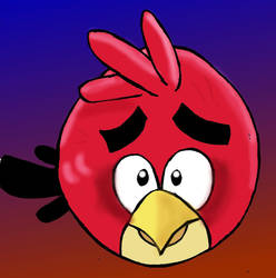 Innocent Angry Bird by Mephonix