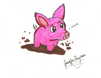 Oink by Mephonix