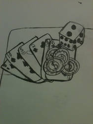 Cards, Coins, and Dice by Mephonix