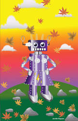 Fall Robot by Mephonix