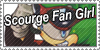 Scourge Fan Girl Stamp by Mephonix