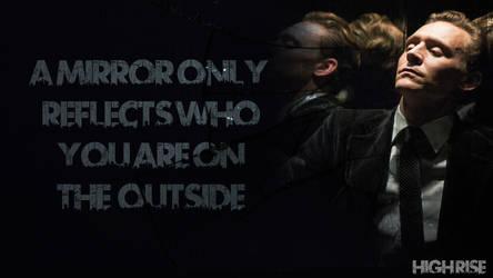 Mirrors- High Rise Tom Hiddleston Wallpaper by Mephonix