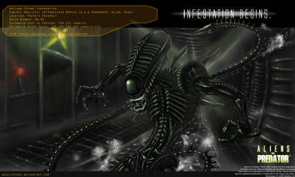 AVP 2010 - Xenomorph tribute by AngelFether