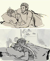pillow thieves by Aedsu