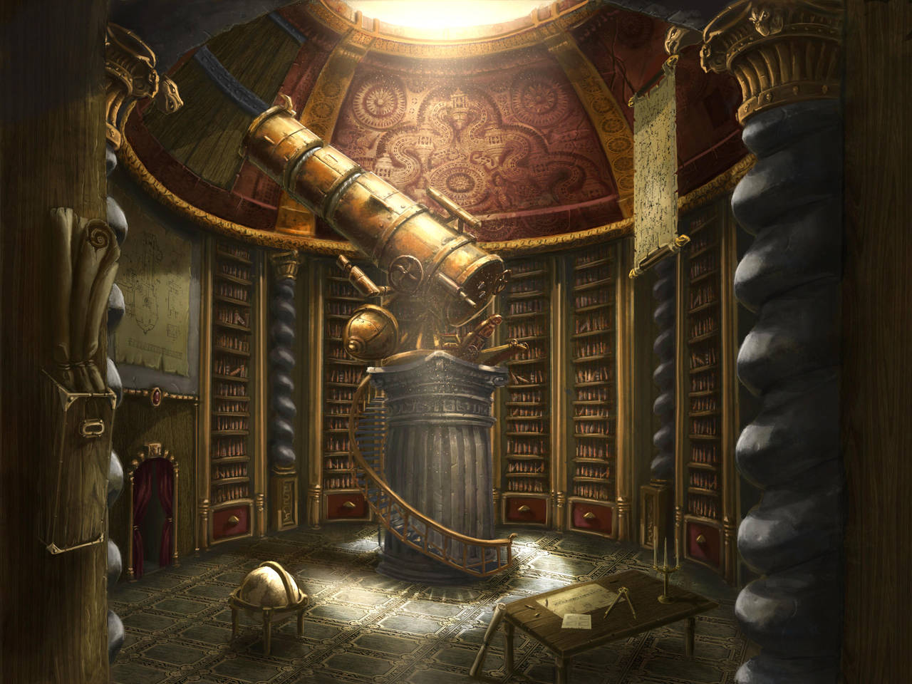 Observatory room by ARTOFJUSTAMAN