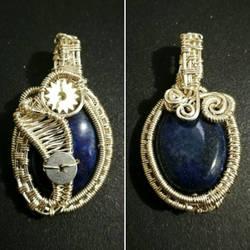 Lapislazuli pendant by Chinagirlsz
