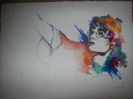 harry potter watercolor old by oswalddent