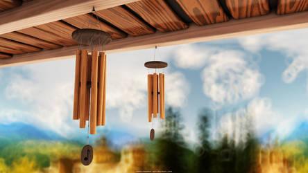 Wind Chimes by abdelrahman