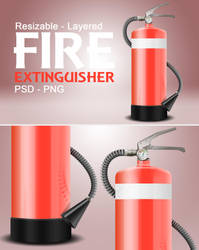 Fire Extinguisher | PSD by abdelrahman