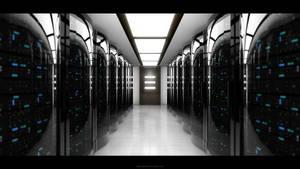 Server Room by abdelrahman