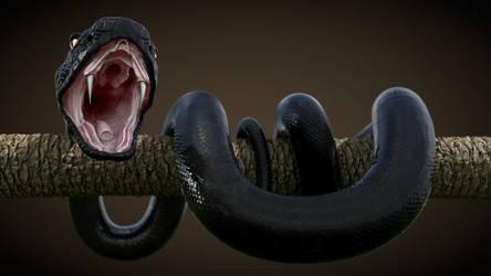 Black Snake by abdelrahman