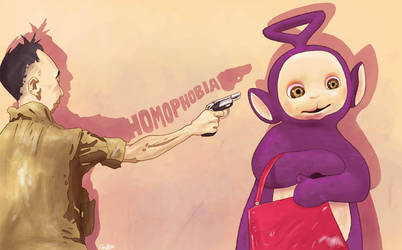 Against homophobia by QuilesART