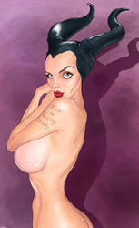 Maleficent by QuilesART