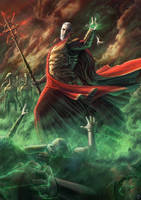 Star Wars Re-Imagined: Dark fantasy Count Dooku by DesignSpartan