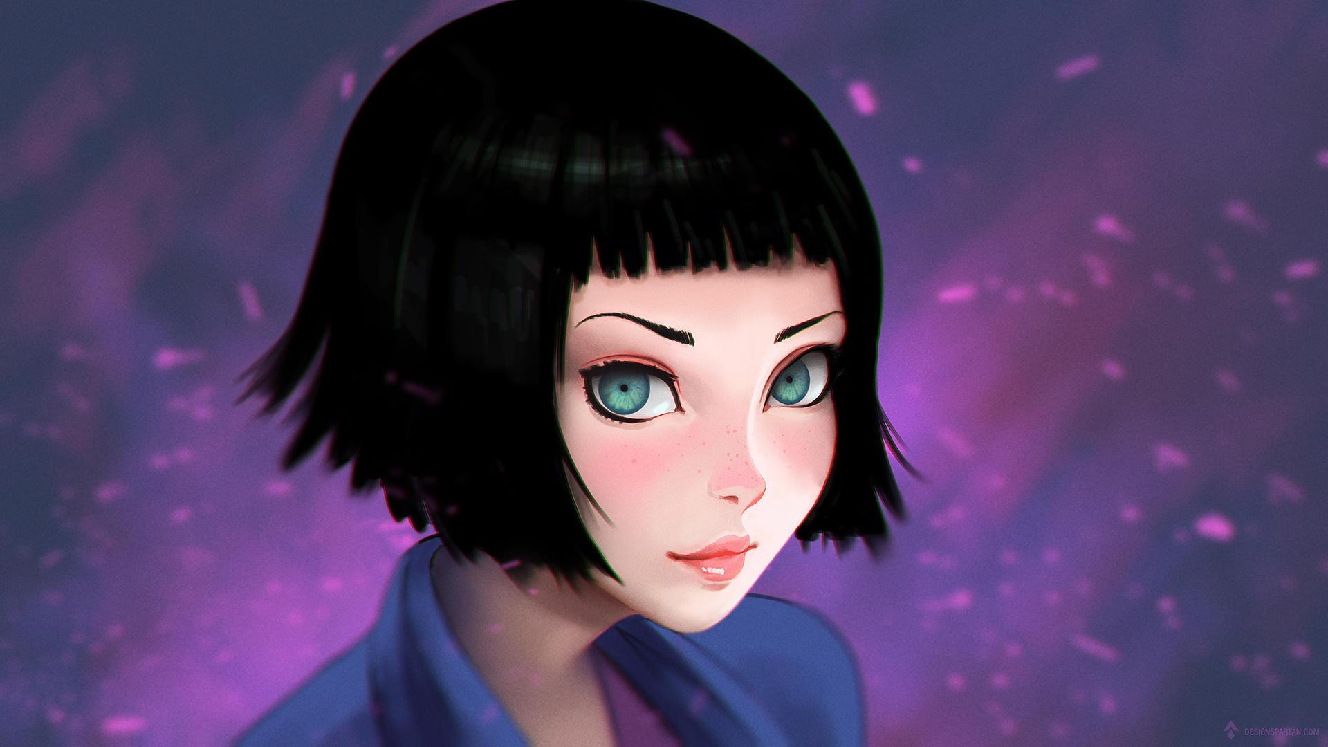 Semi-manga portrait tutorial [video] by DesignSpartan