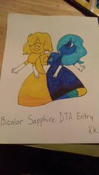 Bicolor Sapphire (DTA Entry) by KamiKasumi