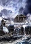 Fall of Atlantis by Merhunes46