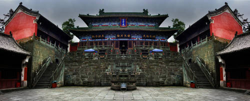 Temple on Wudang Shan by Ravenswan