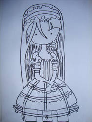 Doll Outline by fibertastic