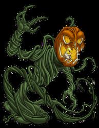 Jack-O-Lantern Monster by ProdigyDuck