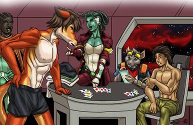 SciFi Strip Poker by ProdigyDuck