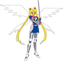 Senshi Neo Armour Moon by Oakheart12