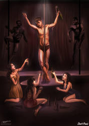 Crucifixion of a Gigolo by angsorbetes