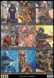 Rule, Kill and control - batman villains by ecaines