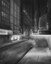 City Night-grey by ecaines