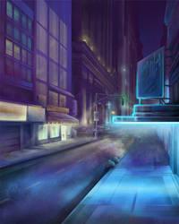 City Night by ecaines