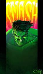 Hulk Smash by ecaines