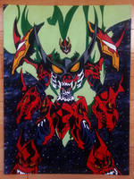 Gurren Lagann Painting by ChronoStar
