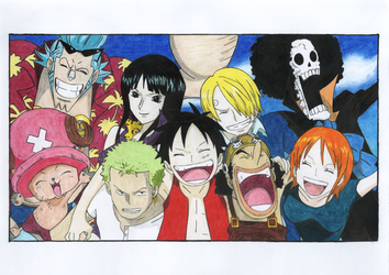One Piece Crew - Before 2Y by ZeroBR