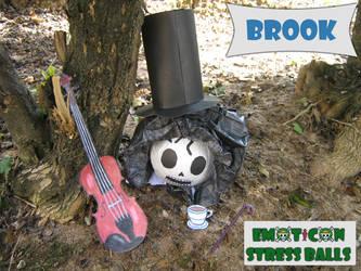 Brook Emoticon Stress Balls by ZeroBR