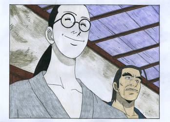 Koshiro - Kuina father by ZeroBR